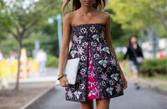 Texture DREAM in a mini dress // Photo: The Styleograph #NYFW #streetstyle