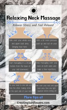 How to Release Stress with this Self Massage for your Neck — Creating Sunflowers