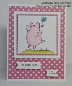 I'msharing a few projects created by some of my very talented Stampin' Up! team members with you all again today.
