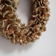 Rind effect door decoration - Decoration - Christmas | Zara Home United Kingdom