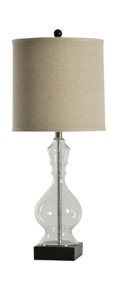 Seeded Glass Table Lamp | HOM Furniture | Furniture Stores In Minneapolis  Minnesota U0026 Midwest
