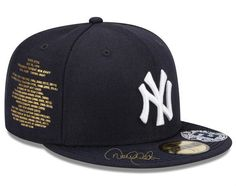 e98d2e3245683 Atmos Custom Derek Jeter New York Yankees Fitted Cap Size 7 5 8