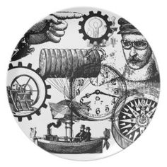 steampunk plate