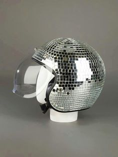 Disco motor cycle helmet :-)))))