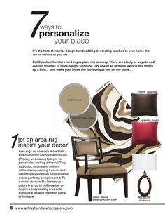Ashley Furniture HomeStore. www.naturallywood.com @NaturallyWood1