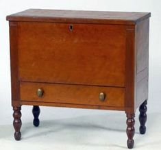 Long obsolete, sugar chests have become collector favorites. Most sugar chests come from Kentucky, Tennessee and North Carolina, but they also were produced in Southern Furniture, Country Furniture, Country Cupboard, Country Primitive, Primitive Furniture, Antique Furniture, Early American, American Country, French Country