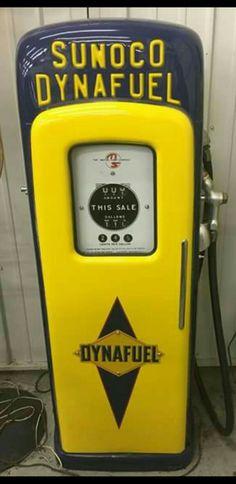 Sunoco Dynafuel Gas Pump