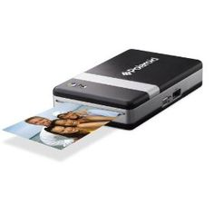 The world's smallest Digital Portable Photo Printer.  The world's smallest Digital Portable Photo Printer  Most printers sit on a desk, plugged in to a PC and the mains. Polaroid PoGoTM sits in your hand, no wires, no mess and no fuss! Barely bigger than your mobile phone, and coming in at a lightweight 8 ounces, this amazing PoGoTM can print anywhere, anytime.