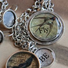 'Through the Looking Glass' Jewelry by the FOUND Gallery in Ann Arbor, MI. http://visitannarbor.org