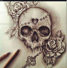 pinterest: @714elizabeth Badass Tattoos, Love Tattoos, Future Tattoos, Beautiful Tattoos, New Tattoos, Flor Tattoo, Sternum Tattoo, Badass Drawings, Tattoo Drawings