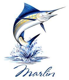 Blue Marlin Jumping | tmb_08_sailfish | license plates | Pinterest ...