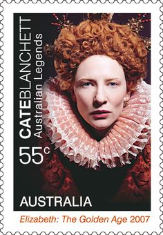 Cate Blanchett - 2009 Australian Legends #stamps