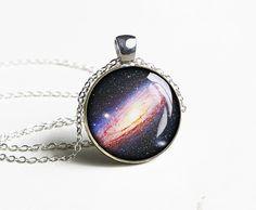 Handmade universe necklace pendant - trending gift idea