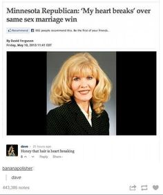 stupid idiots against same sex marriage just let people love each other jeez
