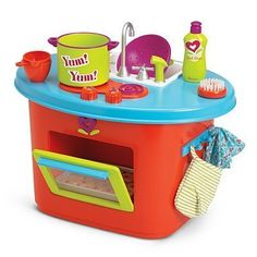 American Girl Bitty Twins Kitchen Set *** This is an Amazon Affiliate link. Check out this great product.