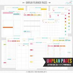 Free planner printables! - misstina.com