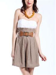 love it! Linen Fit & Flare dress