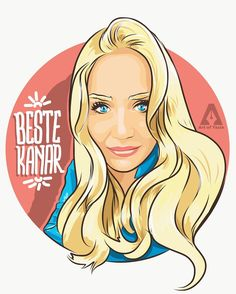 Sıradaki çalışma Beste Kanar @bestedirbu için geliyor! #bestekanar #portraitillustration #artwork #digitalart #adobedraw #vectordrawing #artofyasin #illustrationoftheday #blonde #typography #marmaraüniversitesi #beauty #smile #drawing #ipadproart #illustration #gtastyle #cartoon #thanksforwatching