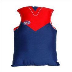 AFL Melbourne Jersey Cushion C A Australia