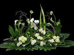 """Résultat de recherche d'images pour """"coeur floral deuil moderne"""""""
