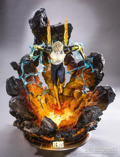 """hiso-neko: """" ohnoraptors: """" Genos HQS by tsume """" I can't fuckin believe I bought this but thank god there's an installment plan """""""
