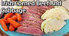 If you'd like to serve a yummy St. Patrick's Day themed meal, here are some traditional recipes including an Irish Corned Beef Brisket And Cabbage Recipe!