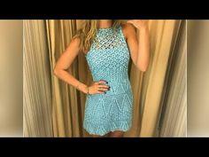 Vestido vitrais parte 1 - YouTube
