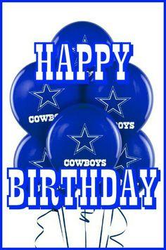 pin jessica gomez on dallas cowboys pics dallas cowboys Dallas Cowboys Happy Birthday, Happy Birthday Cowboy, Happy Birthday Ballons, Happy Birthday Fun, Happy Birthday Quotes, Birthday Messages, Birthday Cards, Birthday Memes, Cool Happy Birthday Images