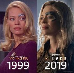 star trek picard seven of nine - Star Trek Star Trek Voyager 1999 Picard 2019 theunicomplex Star Trek Enterprise, Star Trek Voyager, Star Trek Starships, Star Trek Meme, Star Wars, Star Trek Cosplay, 9gag Funny, Funny Labs, Funny Memes