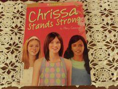 "EUC American Girl ""Chrissa"" by Mary Casanova Paperback Book"