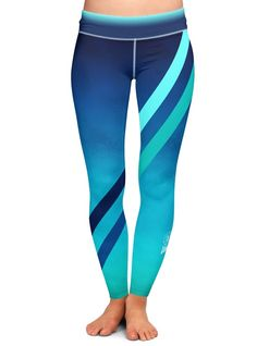 Blue Fitness Yoga Pants by YogaYam https://yogayam.com/shop/pants/blue-fitness-yoga-pants/