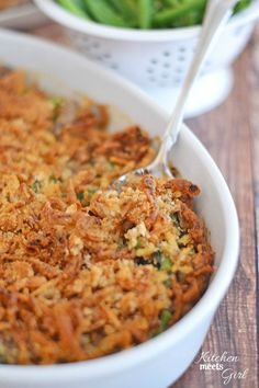 This Ultimate Green Bean Casserole