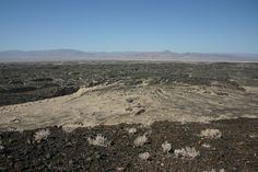 View from the top of Amboy Crater, looking south. Amboy, Calif., June 2012.