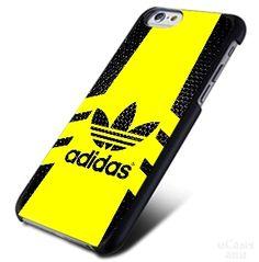Adidas Logo yellow stripe iPhone Cases Case