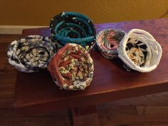 Fabric Coil Baskets