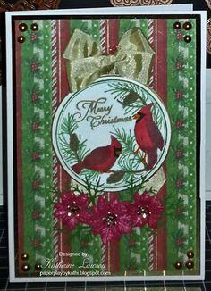 Cardinal Ornament Card