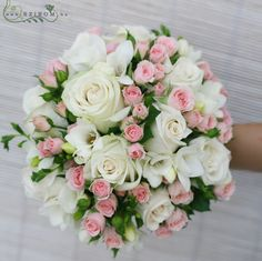 admin 23 minutes ago Ramos de novia 1 views White roses with pink spray rose bouquet Check, then Blu Rose Wedding Bouquet, Bridal Flowers, Pink Rose Bouquet, Boquette Wedding, Floral Wedding, Wedding Decor, Wedding Flower Arrangements, Floral Arrangements, Spray Roses