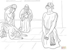 Job story Coloring pages. Select from 31983 printable Coloring pages of cartoons, animals, nature, Bible and many more. Crayola Coloring Pages, Jesus Coloring Pages, Bible Verse Coloring Page, Coloring Pages For Kids, Coloring Books, Colouring, Job Bible, Creation Coloring Pages, Sunday School Coloring Pages