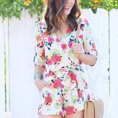 Such a fun print. Would love to try a romper
