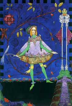 'The Swineherd' Hans Christian Andersen 1916 illus. Harry Clarke