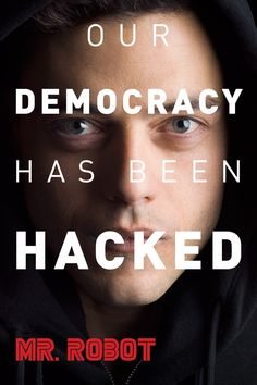 """""""Mr. Robot"""" - A bit over the head but quite accurate hacking portrait"""
