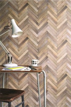 Parquet Inspired by Andrew Stafford wallpaper by Ella Doran