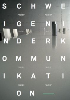 poster, via graphic design layout, identity systems and great type lock-ups.