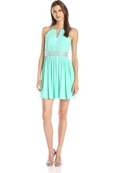 Minuet Mint Embellished Halter DressSummer outfits Teen fashion Cute Dress! Clothes Casual Outift for • teenes • movies • girls • women •. summer • fall • spring • winter • outfit ideas • dates • school • parties mint cute sexy ethnic skirt#rue 31#fabkini#mintgreendress#www.sexydresses.com.co#www.mintgreendresses.com