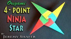 Origami 4-Point Ninja Star