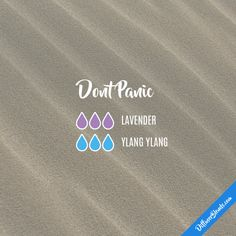 Dont Panic - Essential Oil Diffuser Blend