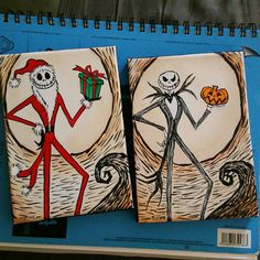 Pesadilla de Jack skellington antes de por ButterflyCreation