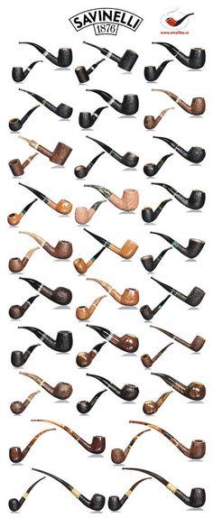 Dýmky Savinelli Savinelli pipes