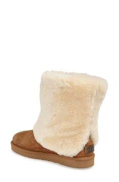 48595a14d2cb  Patten  Water Resistant Silkee™ Suede Shearling Cuff Boot (Women) In stock   121.91 Best women comfort boot in winter. Love it.