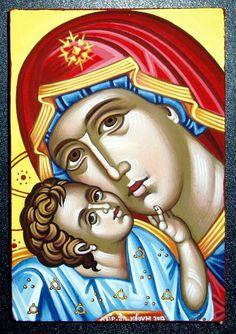 Theotokos by Alexandra Kaouki of Crete